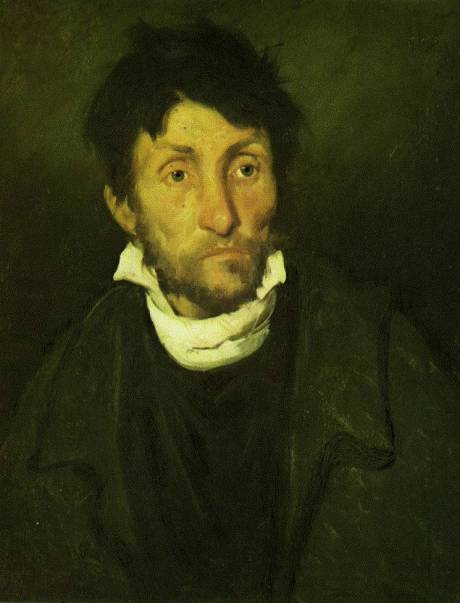 Théodore Gericault, louco