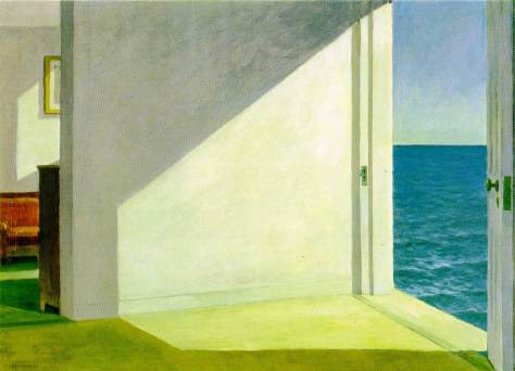 Rooms by the Sea by Edward Hopper, 1951; Oil on canvas, 29 x 40 inches; Yale University Art Gallery, New Haven, Connecticut