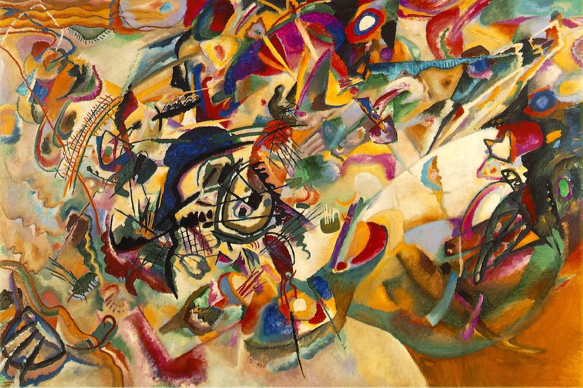 Composición VII, de Wassily Kandinsky