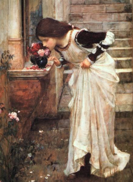 Waterhouse Painting