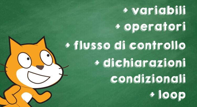Ecco alcuni dei concetti più importanti che si imparano con Scratch