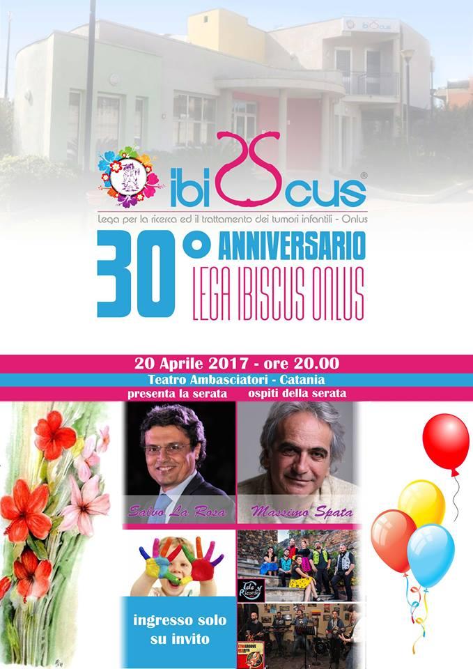 LA FESTA DEI 30 ANNI IBISCUS