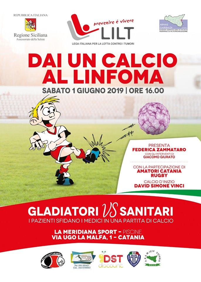 """RITORNA """"DAI CALCIO AL LINFOMA"""""""