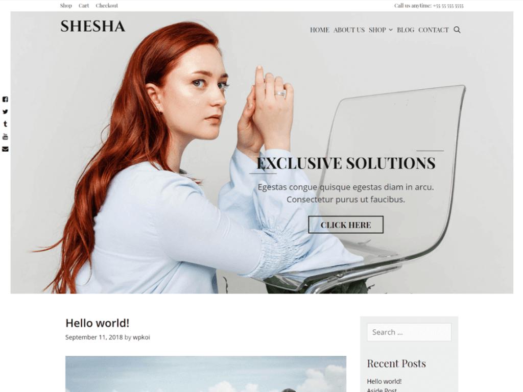 10 Most Beautiful WordPress Themes and HTML Templates 2