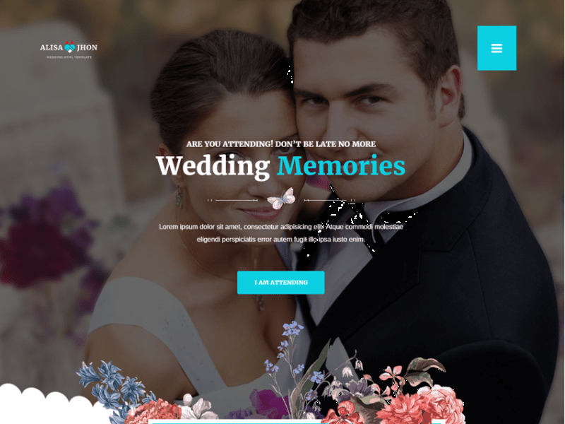 Wedding - Responsive Theme 2