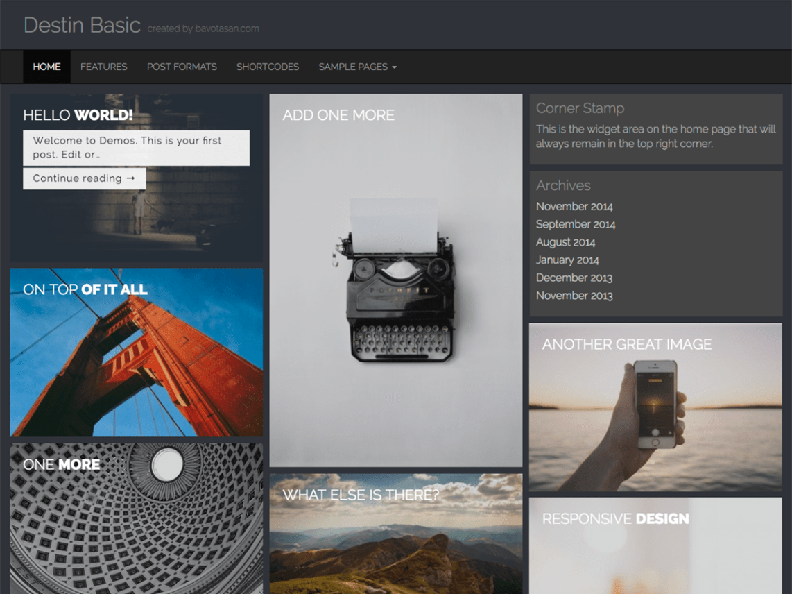 Destin Basic - Lightweight Fully Responsive Theme 5