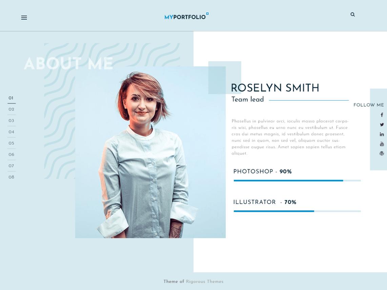 RT Portfolio - Multi-Purpose WordPress Theme 5