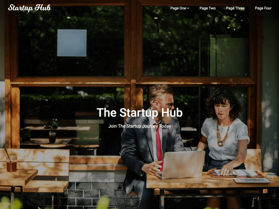 Startup Hub – WordPress Business Theme