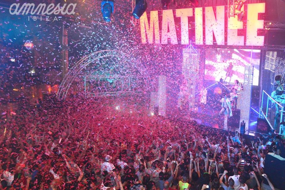 Matine Is Back At Amnesia Every Saturday Latest Ibiza News