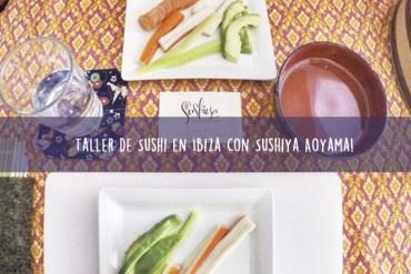 Taller de Sushi en Ibiza con Sushiya Aoyama!