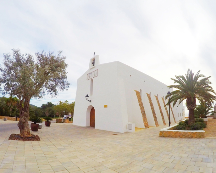 Iglesia Es Cubells Ibiza by Ibizaplus