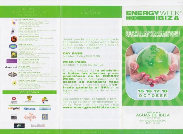 Energy Week Ibiza 2010