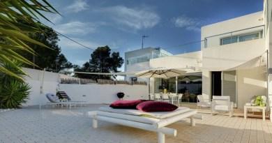Modern vakantiehuis San José Ibiza 6 personen