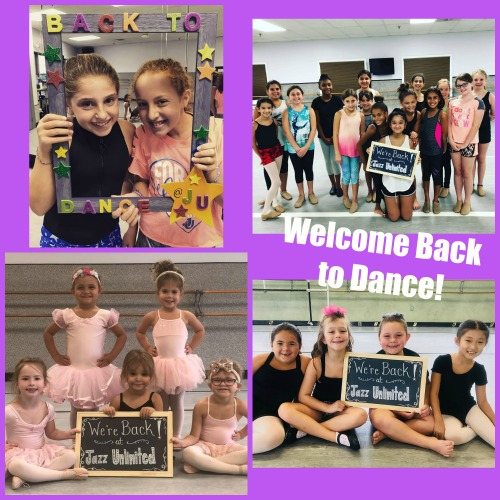 Welcome back to Dance Collage - Jazz Unlimited