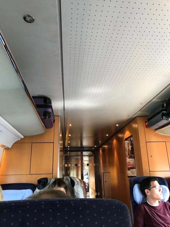 ICE tåg Tyskland