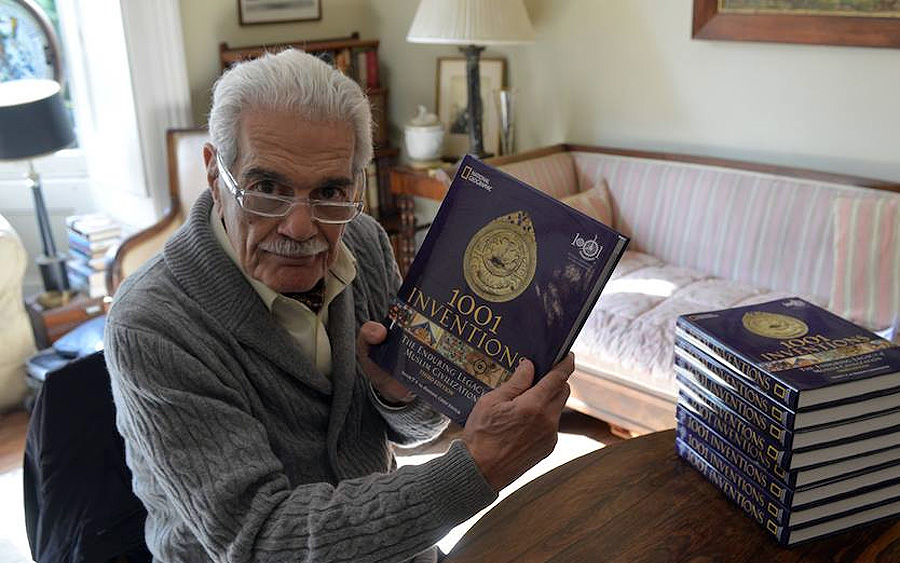 Light  Camera Obscura       Invention  Ibn Al Haytham and Omar     ThinkWorth   WordPress com Filmed in London          Inventions and the World of Ibn Al Haytham    presents Omar Sharif as a knowledgeable older gentleman helping his granddaughter with