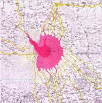 kawasan rawan bencana gunung slamet