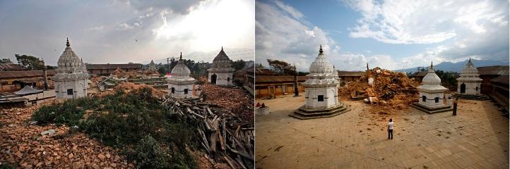 kuil di Nepal