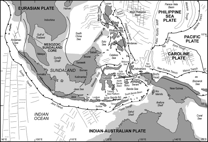 tektonik indonesia