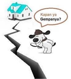 anjing gempa bumi