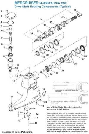 mercruiser alpha outdrive diagram