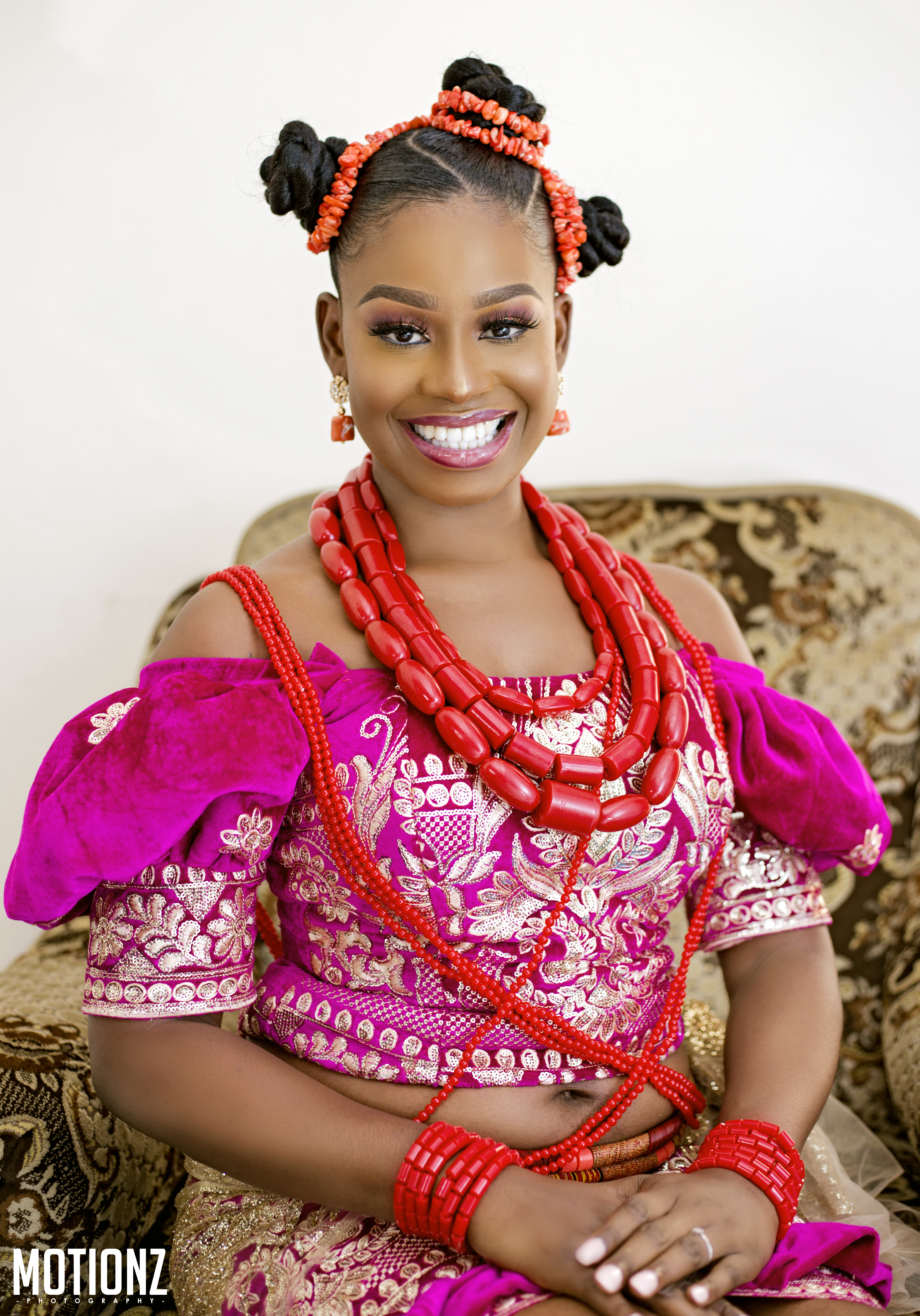 Akwa Ibom Traditional Wedding Attire