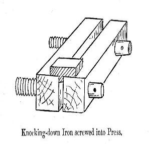 Knocking-down-Iron-screwed-in-topress-303x318