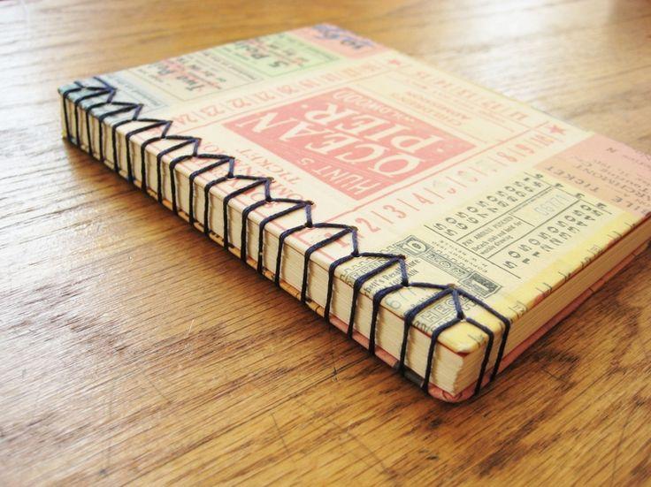 Japanese Stab Bound Binding Example