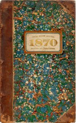 Historic Marbled Book Cover - Photo by Cathe of http://justsomethingimade.com/2011/05/1870-antique-book-cover/