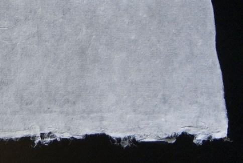 Mulberry Paper Pi Kozo Paper Closeup of Edges