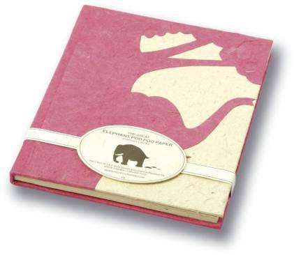poo paper hardback book by elephant poo poo paper