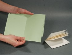 Folded-Paper-for-Bookbinding-Process