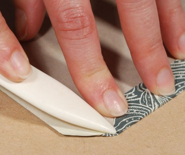 Folding-Corners-of-Book-Cover-Material
