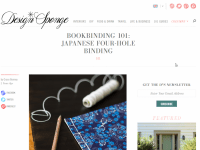 design-sponge-japanese-four-hole-binding