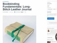 screenshot-Bookbinding Fundamentals Long-Stitch Leather Journal - Tuts+ Crafts & DIY Tutorial