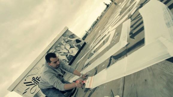 "Urban Calligraphy ""Skyfall"" feat. Simon Silaidis. http://www.urbancalligraphy.com/"