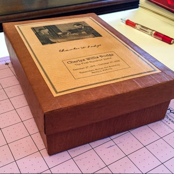 2015.10.20 - A Bookbinding Story - Grandpa Turns 100 - 12