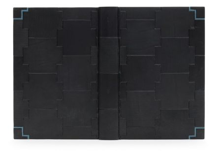 The Sally Lou Smith Prize for Forwarding — Ben Elbel. Nineteen Eighty-Four by George Orwell. Photo by Designer Bookbinders