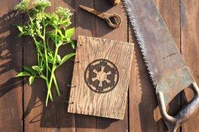 2015.12.16 - Star Wars Meets Bookbinding 24 Wood and Root