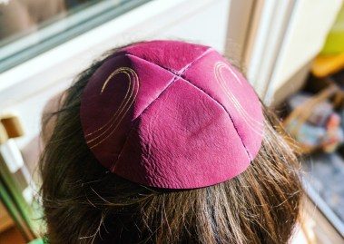 2016.08.19 - 14 - Making Leather Kippot - A Side Job for a Bookbininder