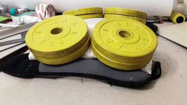 20160725 - 01 - Soft Weights for Bookbinding and Box Making