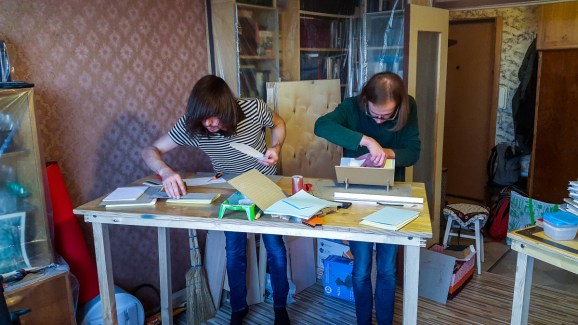 2016.10.07 - First Bookbinding Class of the Season 05