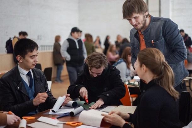 2017.04.09 - Long Stich Binding Workshop at Shalom Moscow - Photo by Alexandra Malikova 06