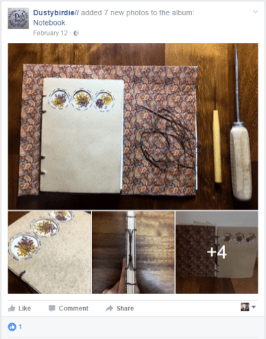 2017.04.17 - 5 Beautiful Bookbinding-Themed Facebook Accounts to Follow - Dustybirdie 02