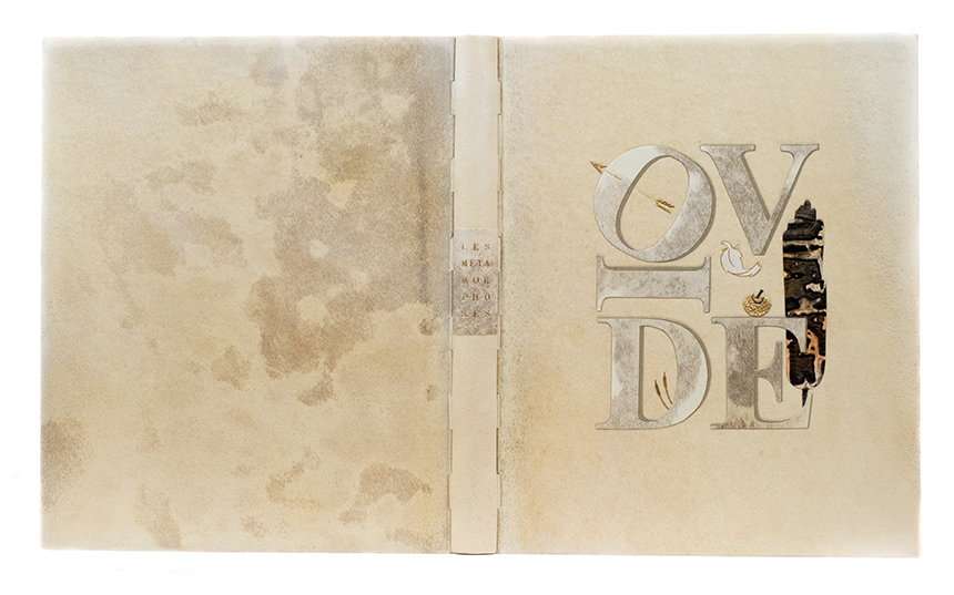 2017.08.18 - Designer Bookbinders International Competition 2017 - Distingiushed Winners - Martine Clamagirand-Roth - Les Métamorphoses d'Ovide