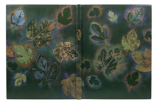 2017.08.18 - Designer Bookbinders International Competition 2017 - Distingiushed Winners - Priscilla Spitler - In the Garden
