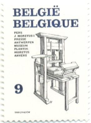 Belgium 1988 Mi BE 2361 - Pers J. Moretus I Presse - Museum Plantin
