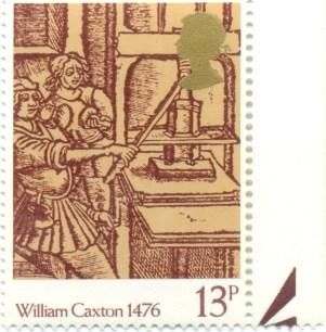 UK 1976 Mi GB 722 - 500 Years of Bookprinting in the UK 13p