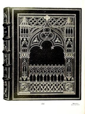 Victor Hugo - Notre-Dame de Paris. Paris, 1889, in-8. Binding - Mercier, pere