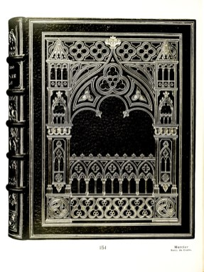 Victor Hugo - Notre-Dame de Paris. Paris, 1889, in-8. Binding - Mercier, pere